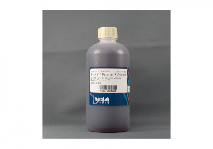 Ponceau S Solution - Membrane Stain, 500 ml, TLP-113